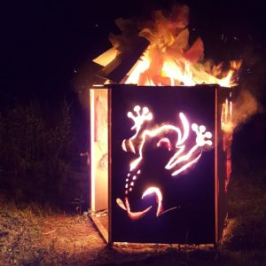 Burning Töads