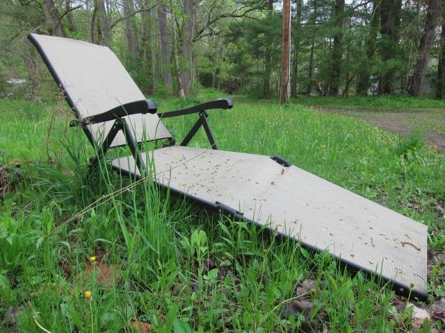 Broken Lounge Chair