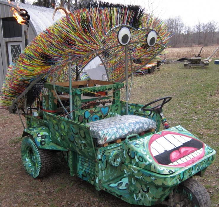 Art car completion.