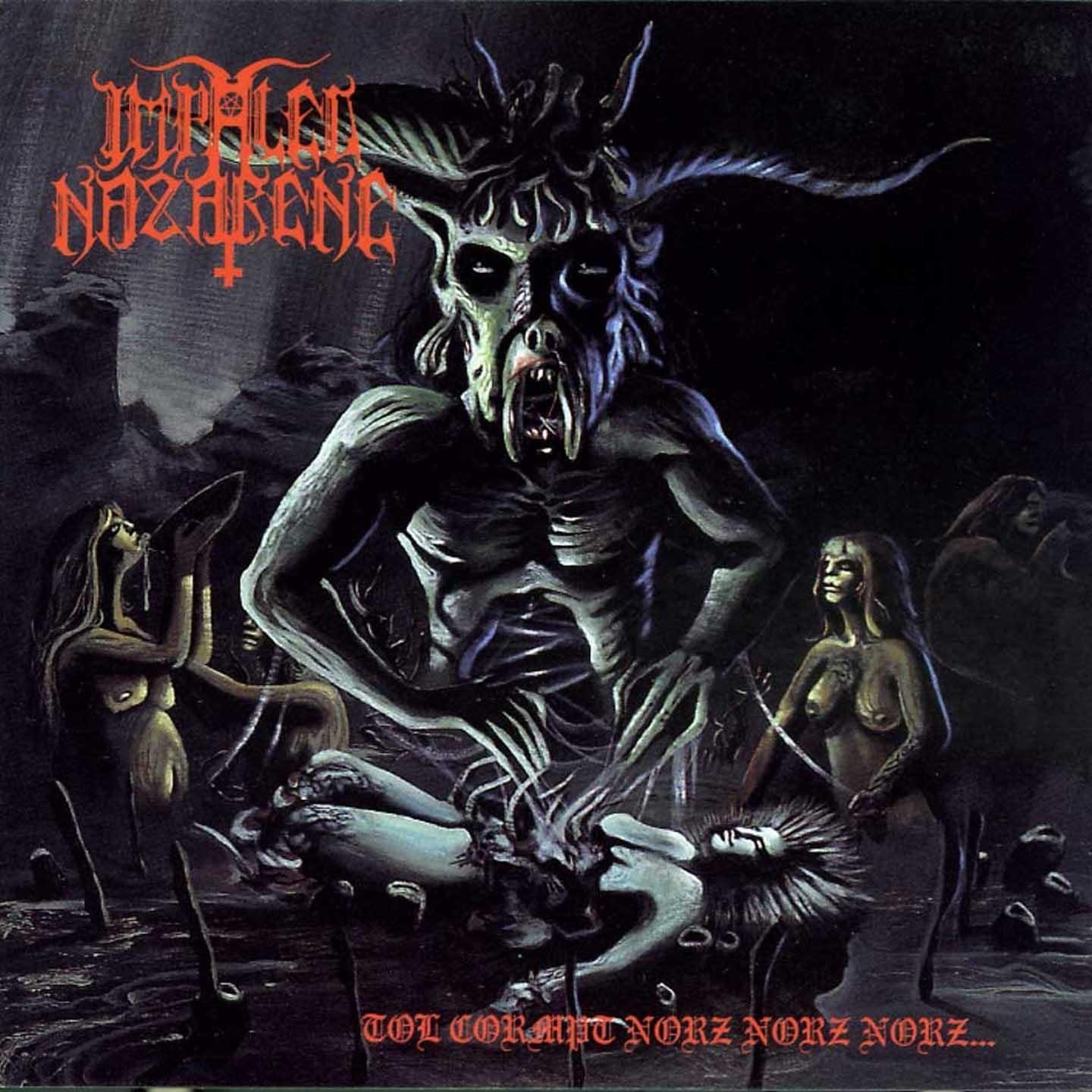 Impaled Nazarene Album Cover