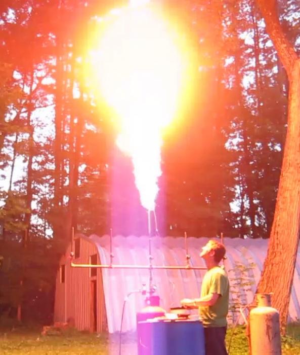 Test firing