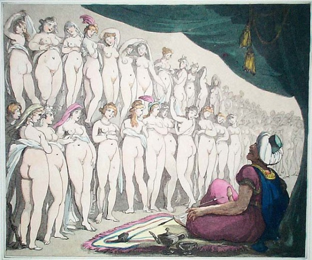 Some painting by Thomas Rowlandson.